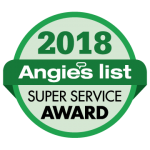 Angie's List Super Service Award 2018 | Heating and Cooling Contractor in New Albany